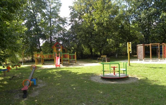 Plac zabaw w Strzyżowie