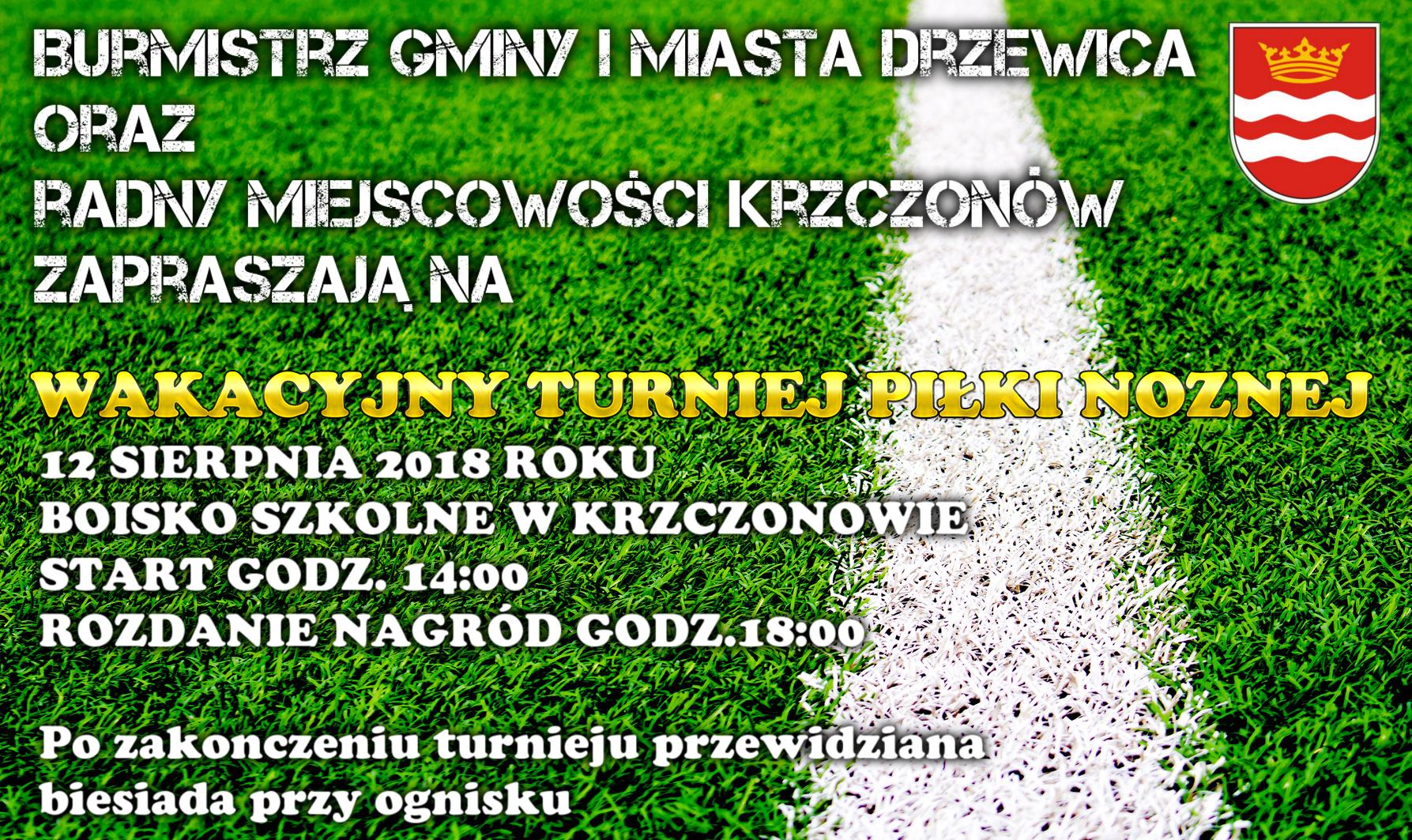 Turniej Piłki Nożnej w Krzczonowie