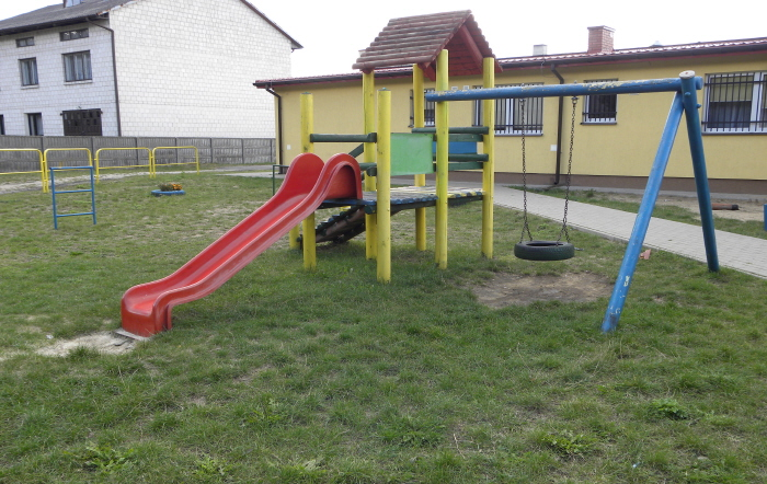 Plac zabaw w Zakościelu