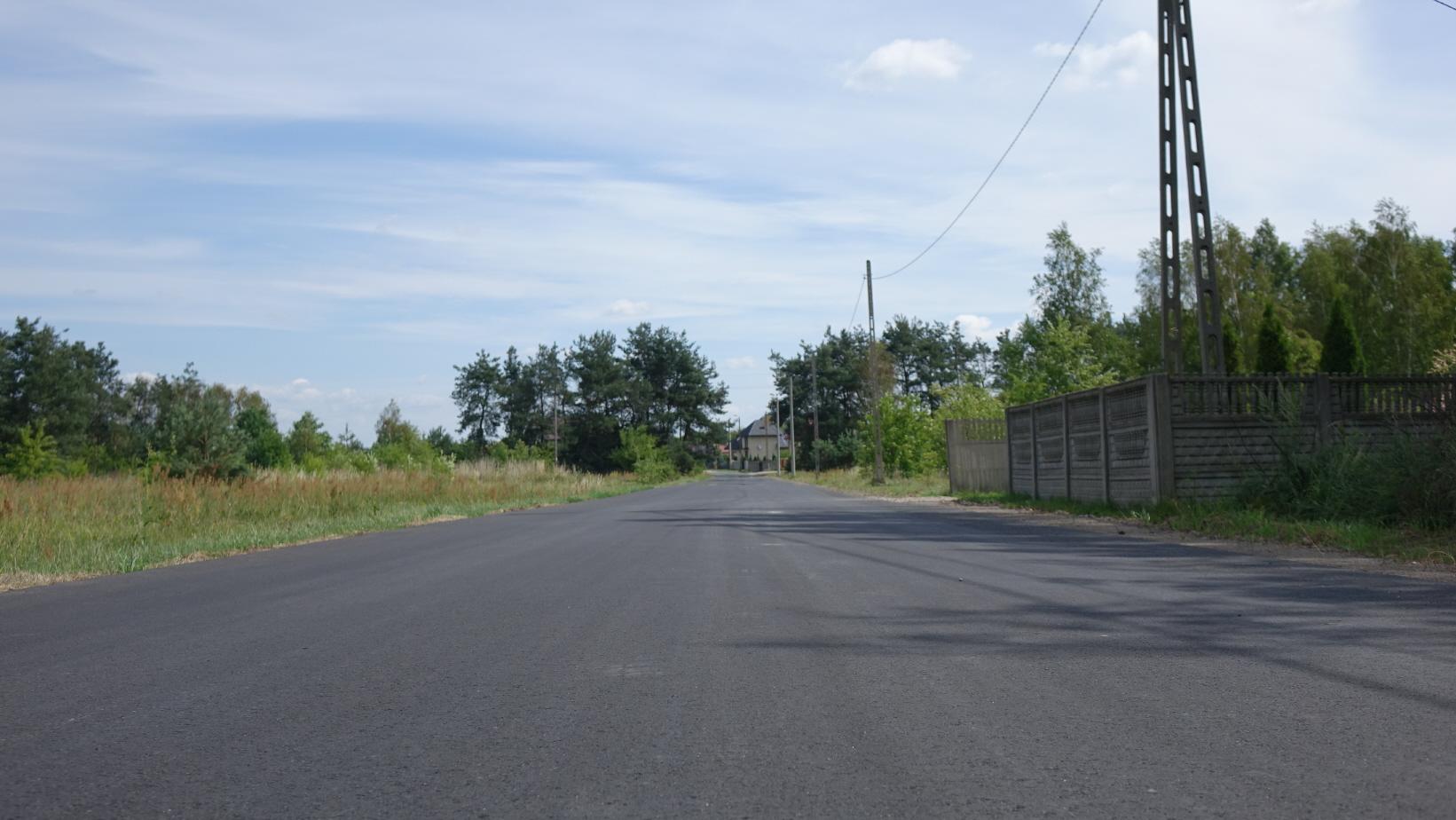 Droga Brzustowiec (Górki)