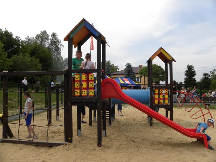 Plac zabaw Strzyżów
