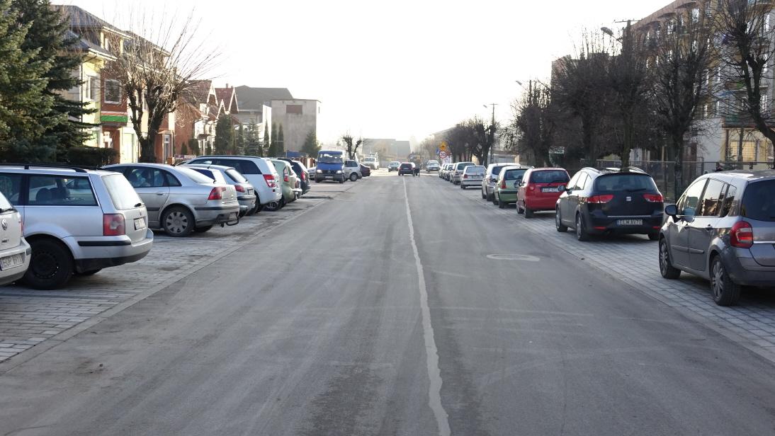 Przebudowa ulicy Staszica w Drzewicy